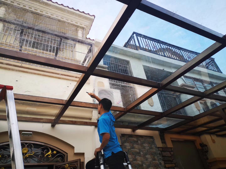 广州家居玻璃采光顶贴隔热膜 广州阳光房贴隔热膜