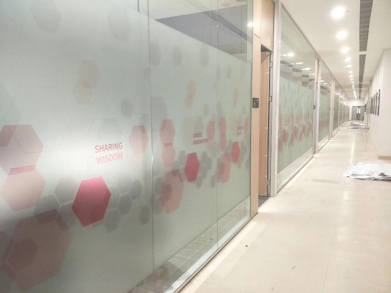 办公室玻璃磨砂膜 办公室玻璃磨砂膜价格