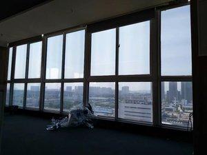 广州图书馆窗户贴隔热防晒膜