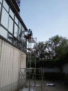广州别墅阳光房贴防晒隔热膜